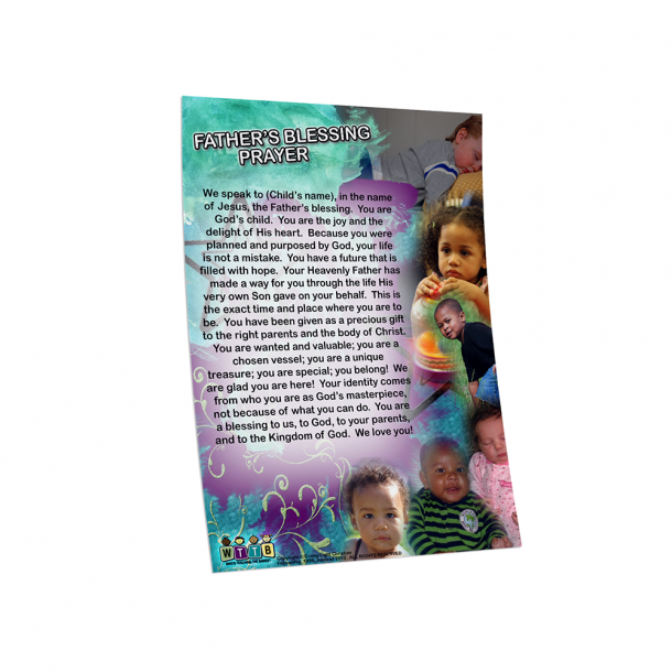 The Father's Blessing Prayer Card