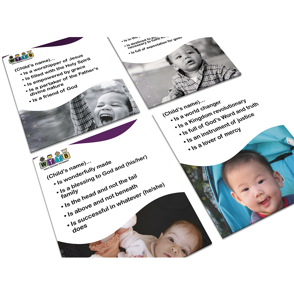 Identity Statement Flash Cards