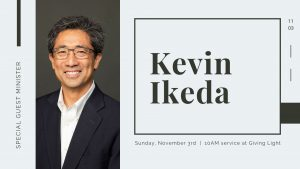 Kevin Ikeda to Minister
