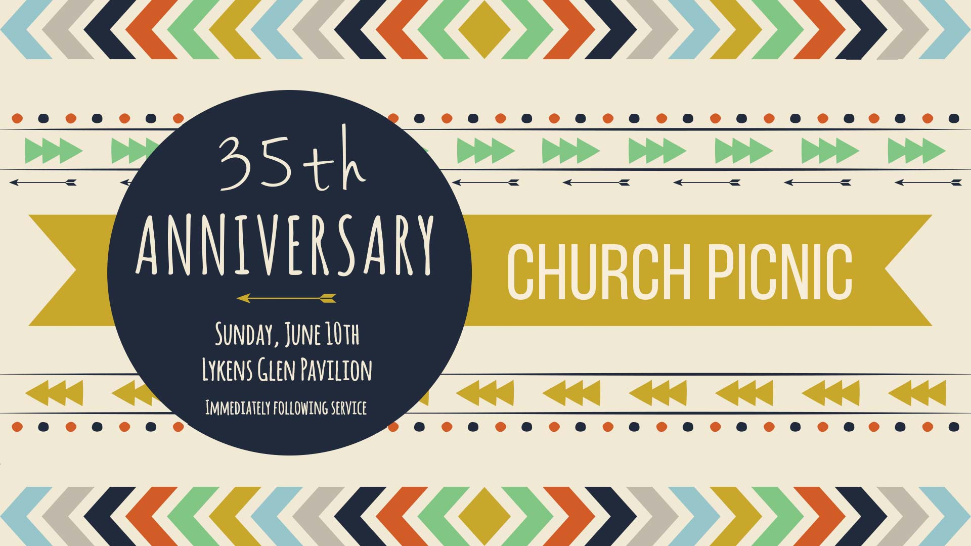 35th Anniversary Church Picnic