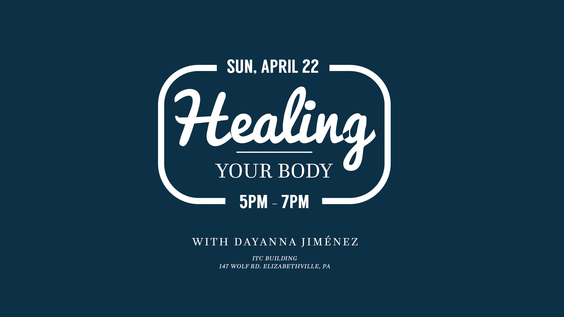 Healing Your Body with Dayanna Jimenez