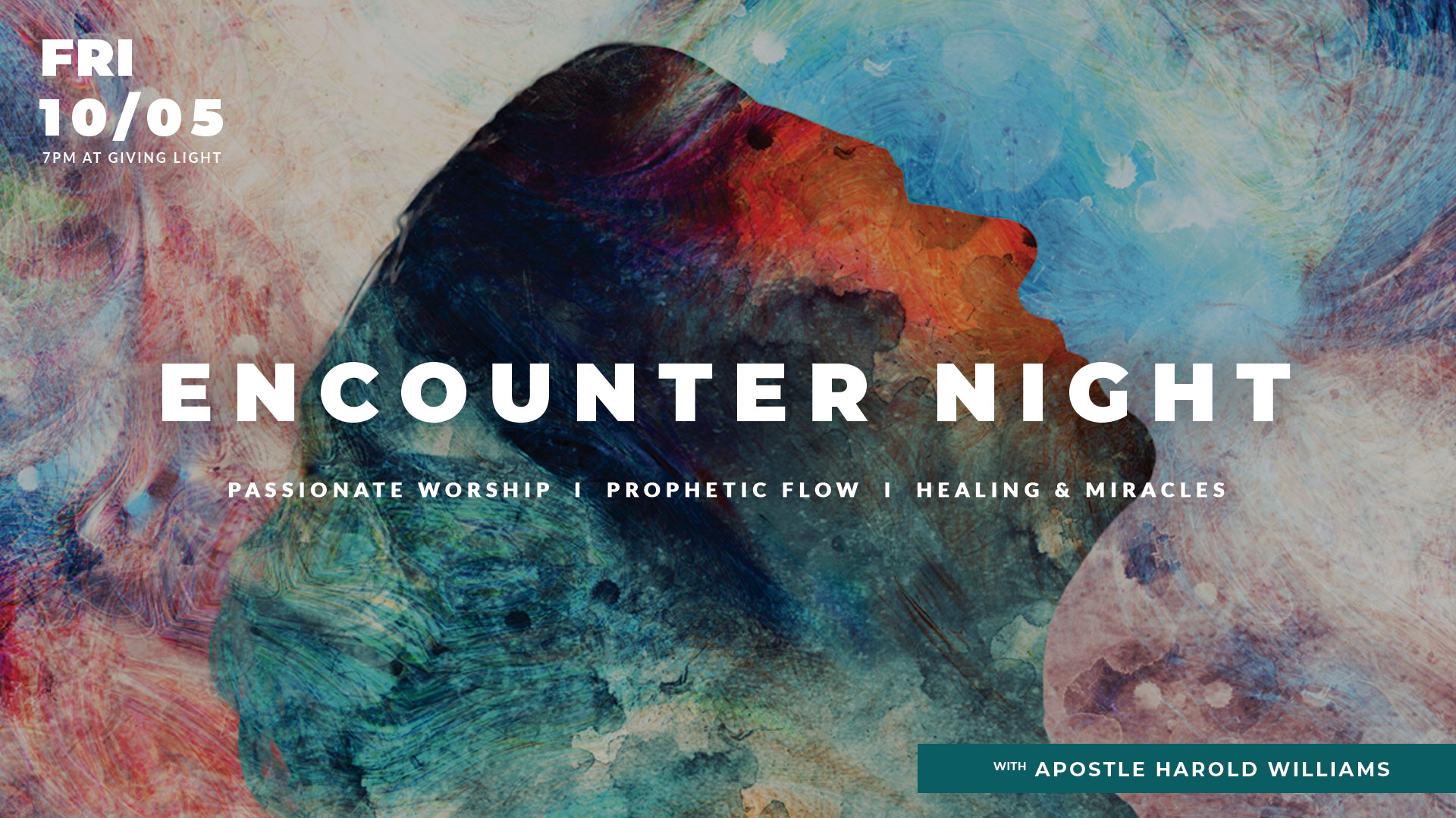 Encounter Night with Apostle Harold Williams