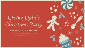 Giving Light Christmas Party